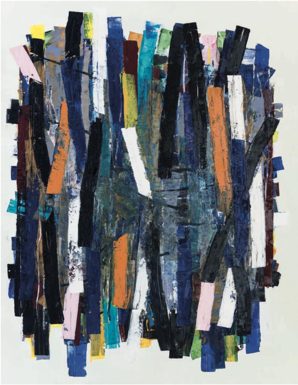 V II, 2017 Öl/ Leinwand 200 x 150cm