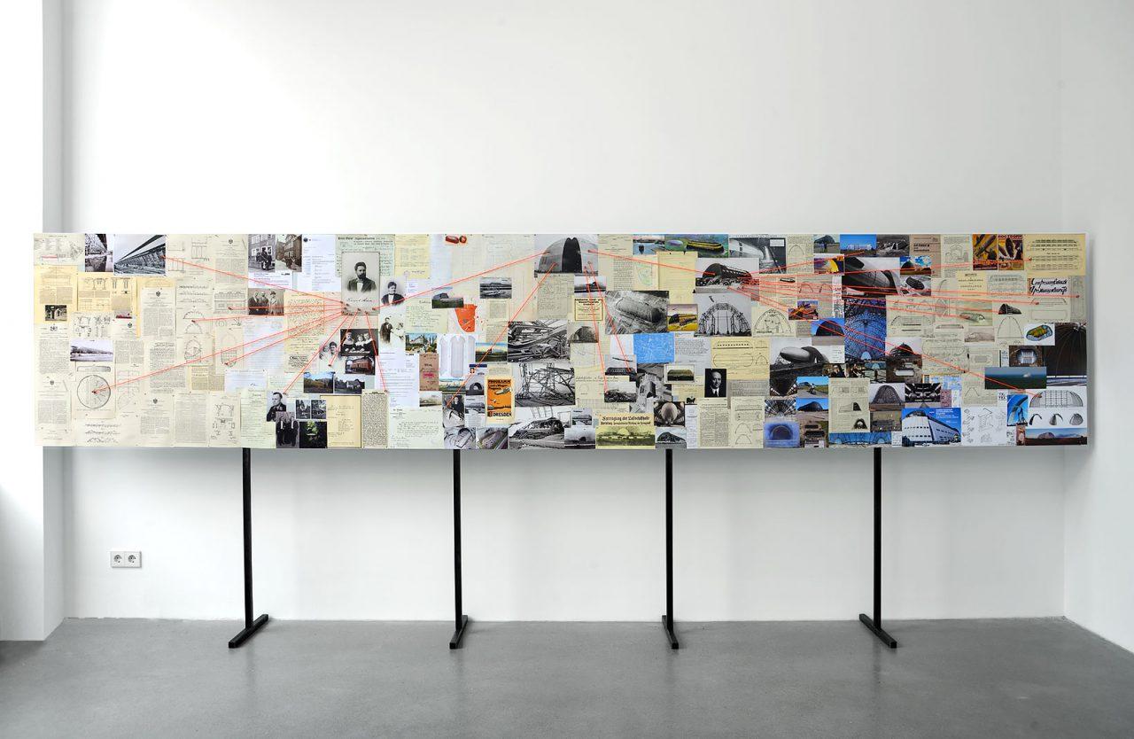 INDIZIENWAND, Architektur Galerie Berlin – Satellit, 2019