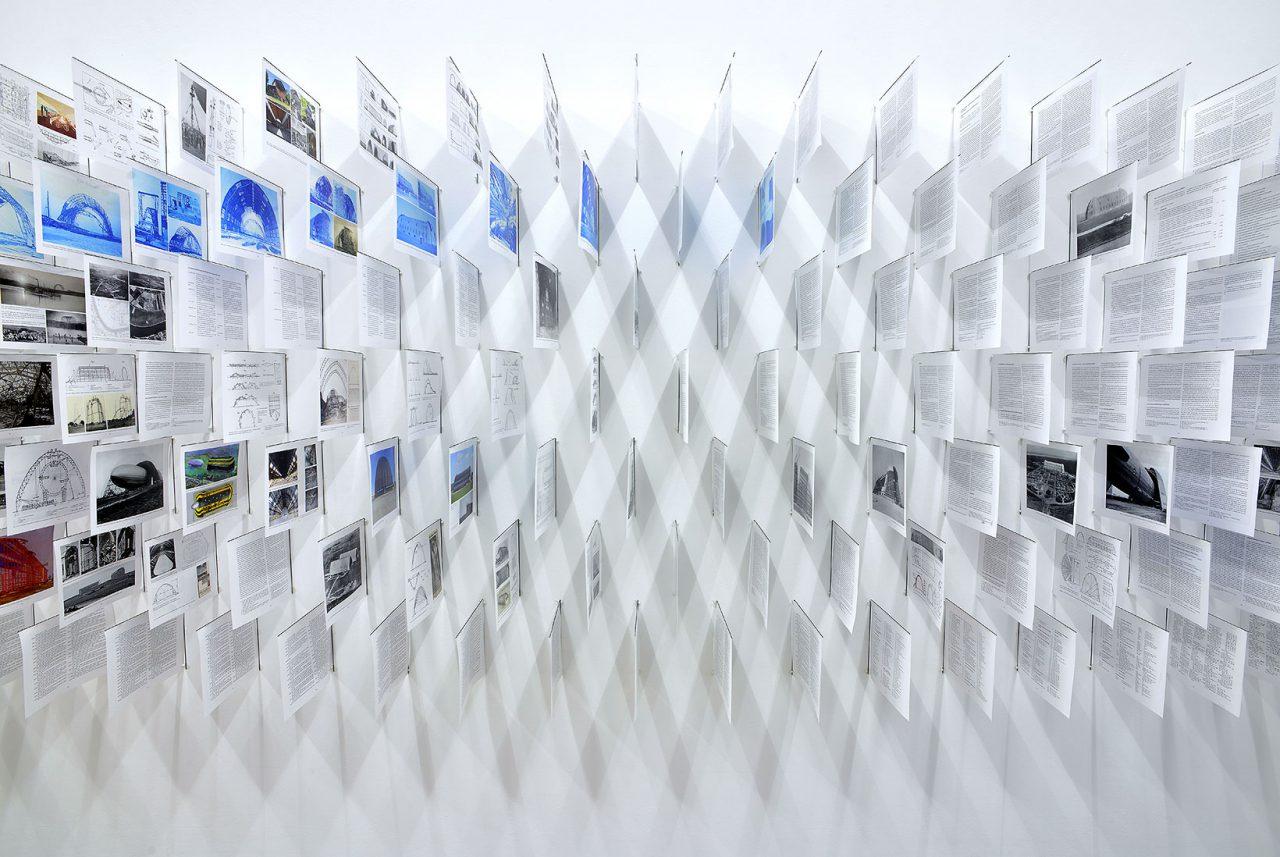Exploded Book, Architektur Galerie Berlin – Satellit, 2019