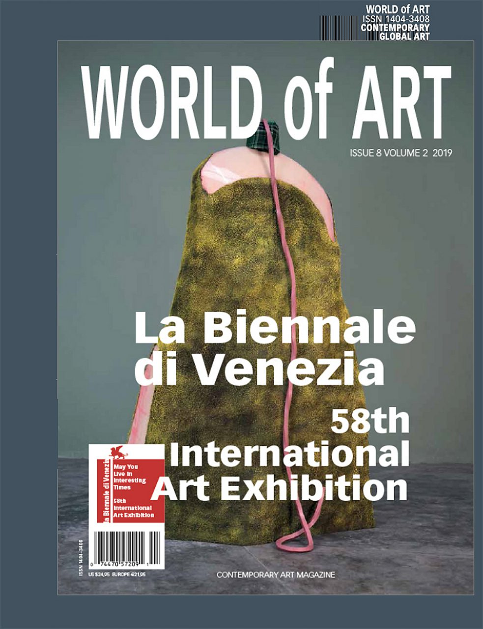 WORLD OF ART La Biennale di Venezia, Publication image