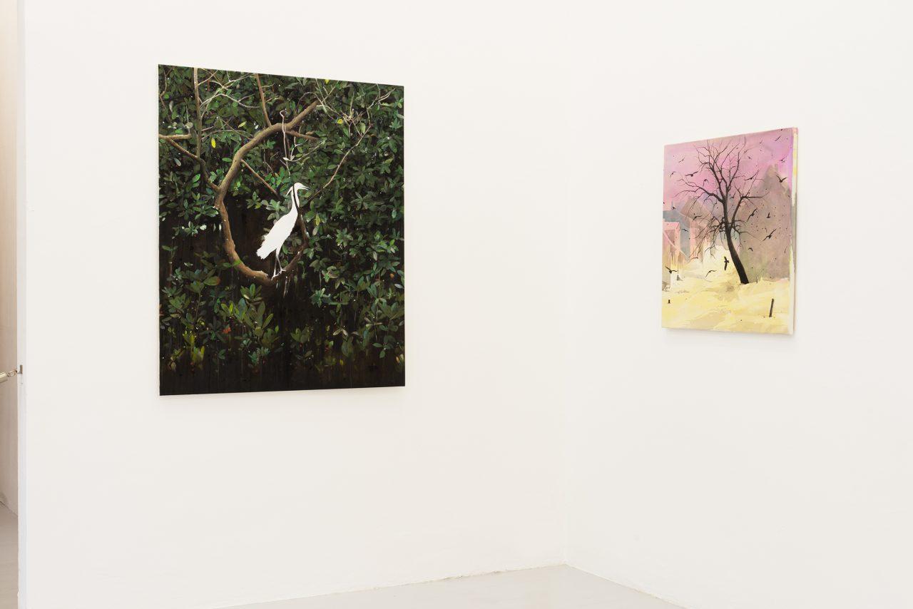Installation view, Jürgen Becker Galerie Hamburg, 2019