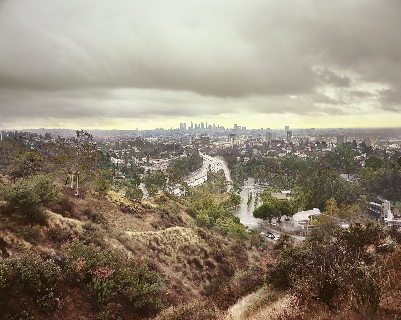 Mulholland Drive from the series Land of Dreams 2018 C-Print, Diasec 200 x 245 cm