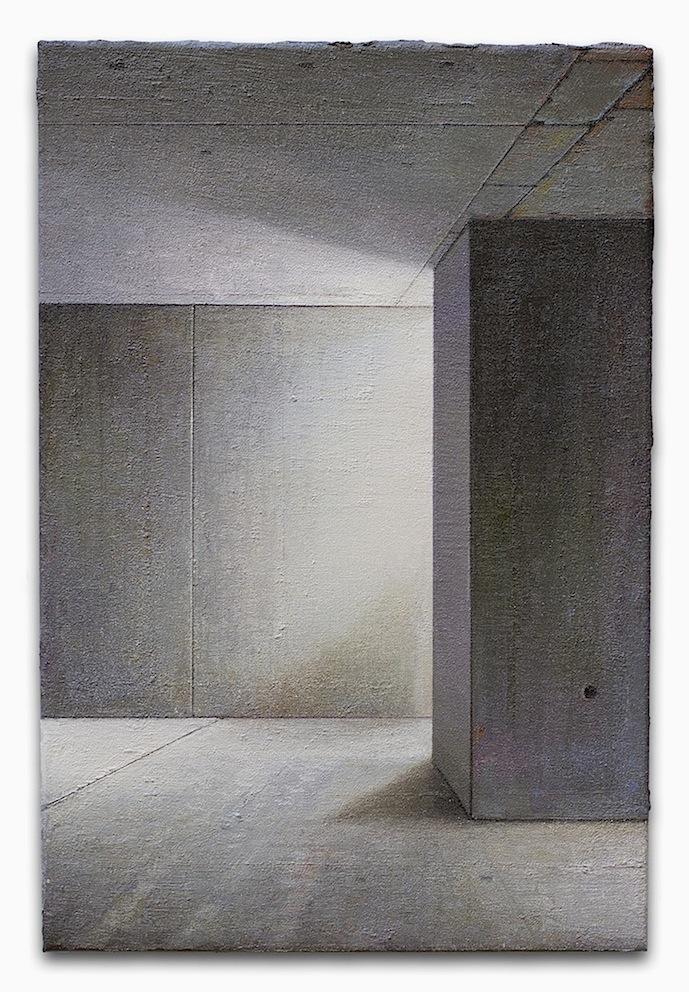 Babel / Fragment - 60 x 40cm - Öl / Lw. - 2017