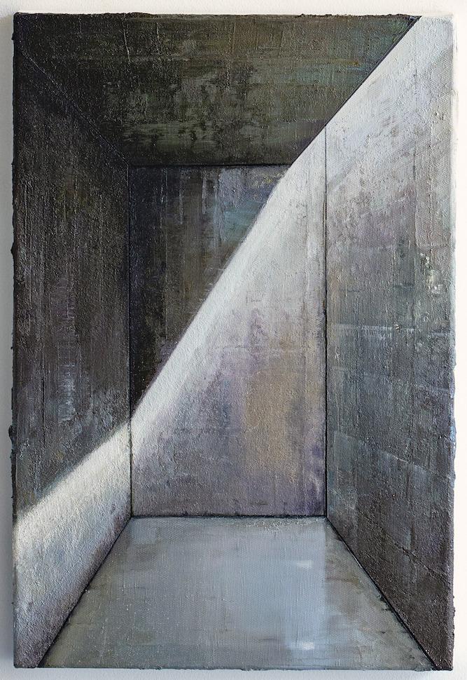 Babel / Fragment - 60 x 40cm - Öl / Lw. - 2019