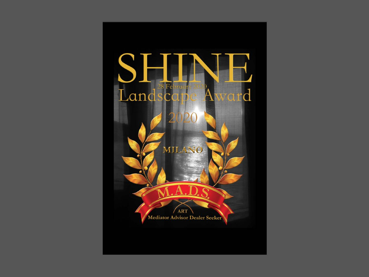 SHINE LANDSCAPE AWARD  International Contemporary Art Exhibition image