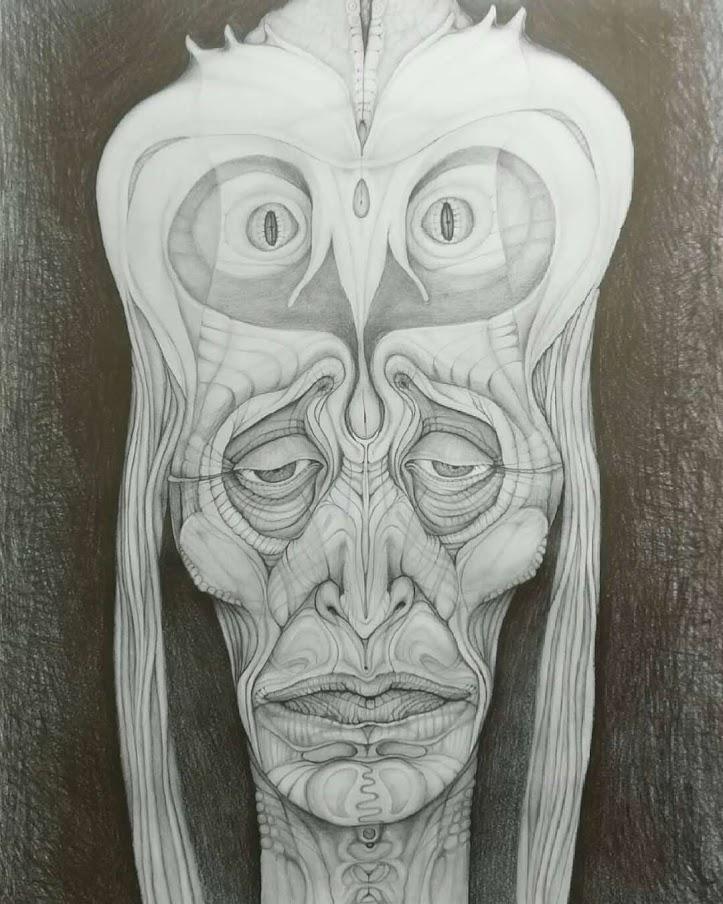 2019, 70 x 50 cm, on paper