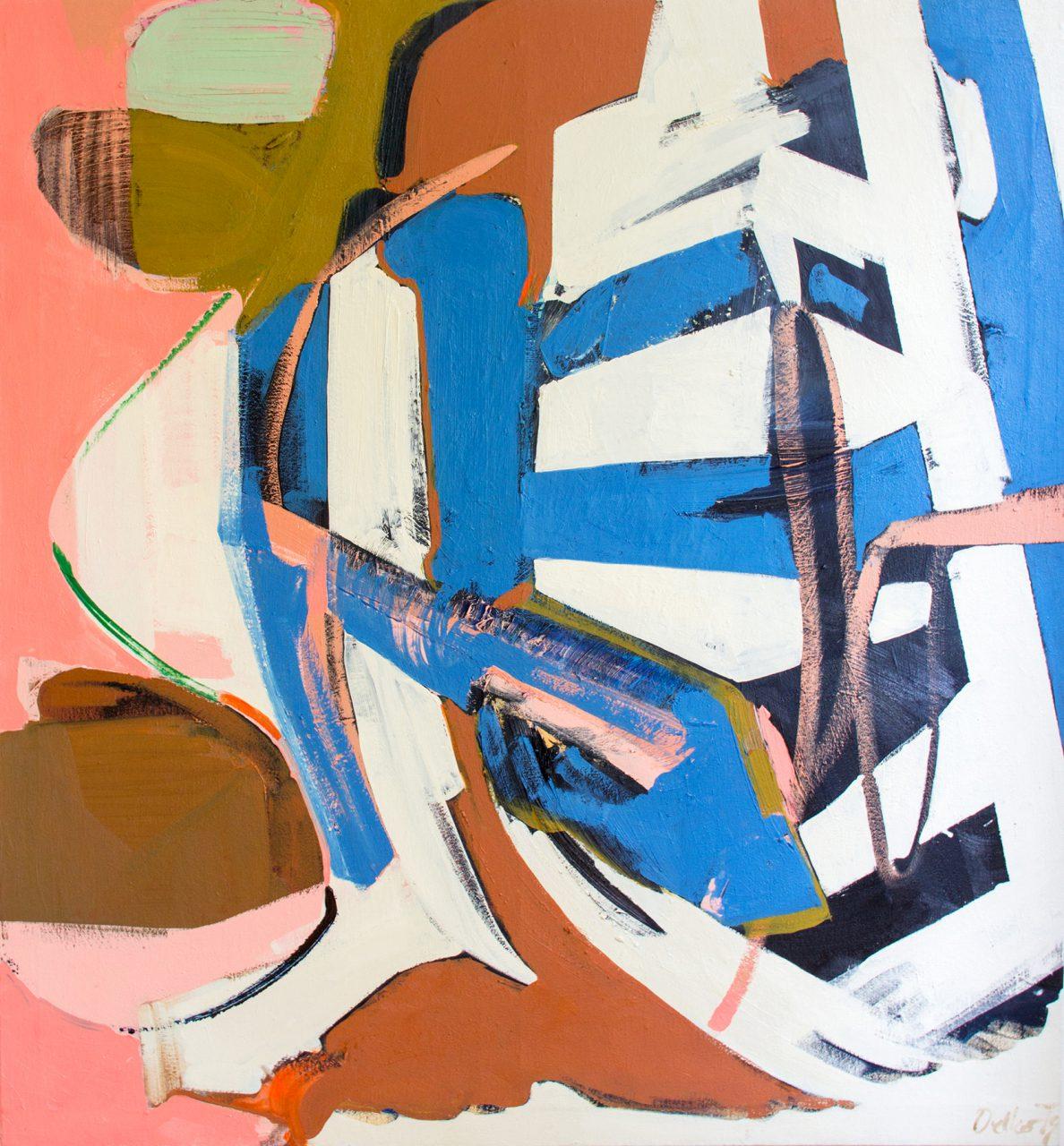 OT, oil on canvas, 98 x 90 cm