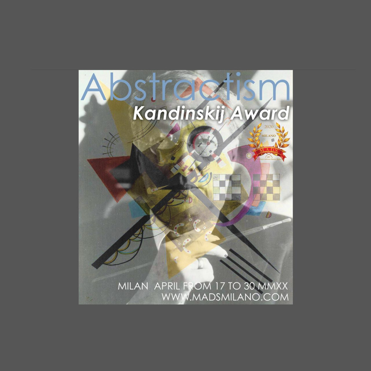 "International Contemporary Exhibition ""ABSTRACTISM KANDINSKIJ AWARD MMXX"" image"