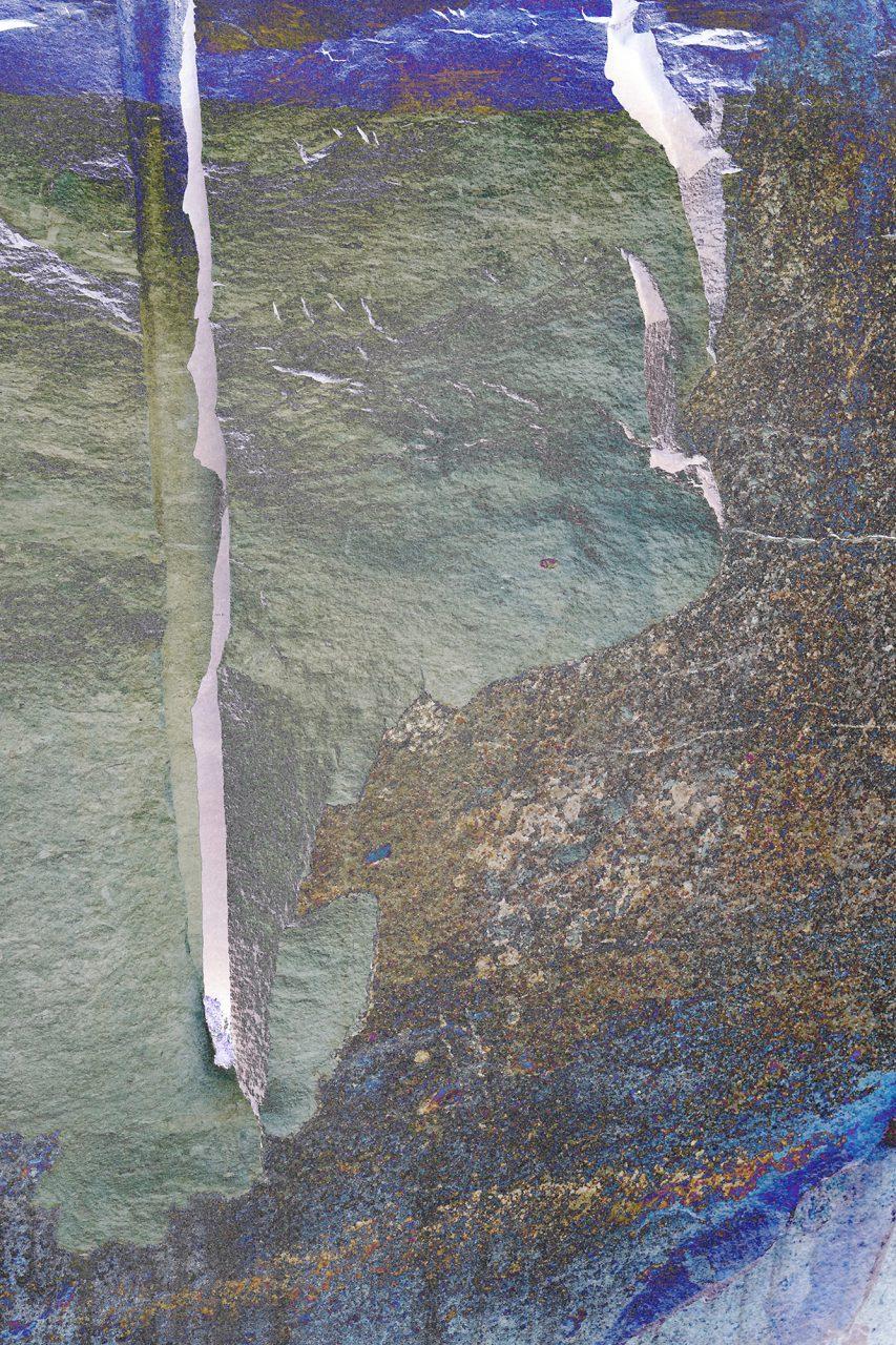 Polarisieren, Experimental Fine Art Photography, Farbpigment auf Aludibond, matt, 2020, 120 x 80 cm, Unikat, rückseitig signiert