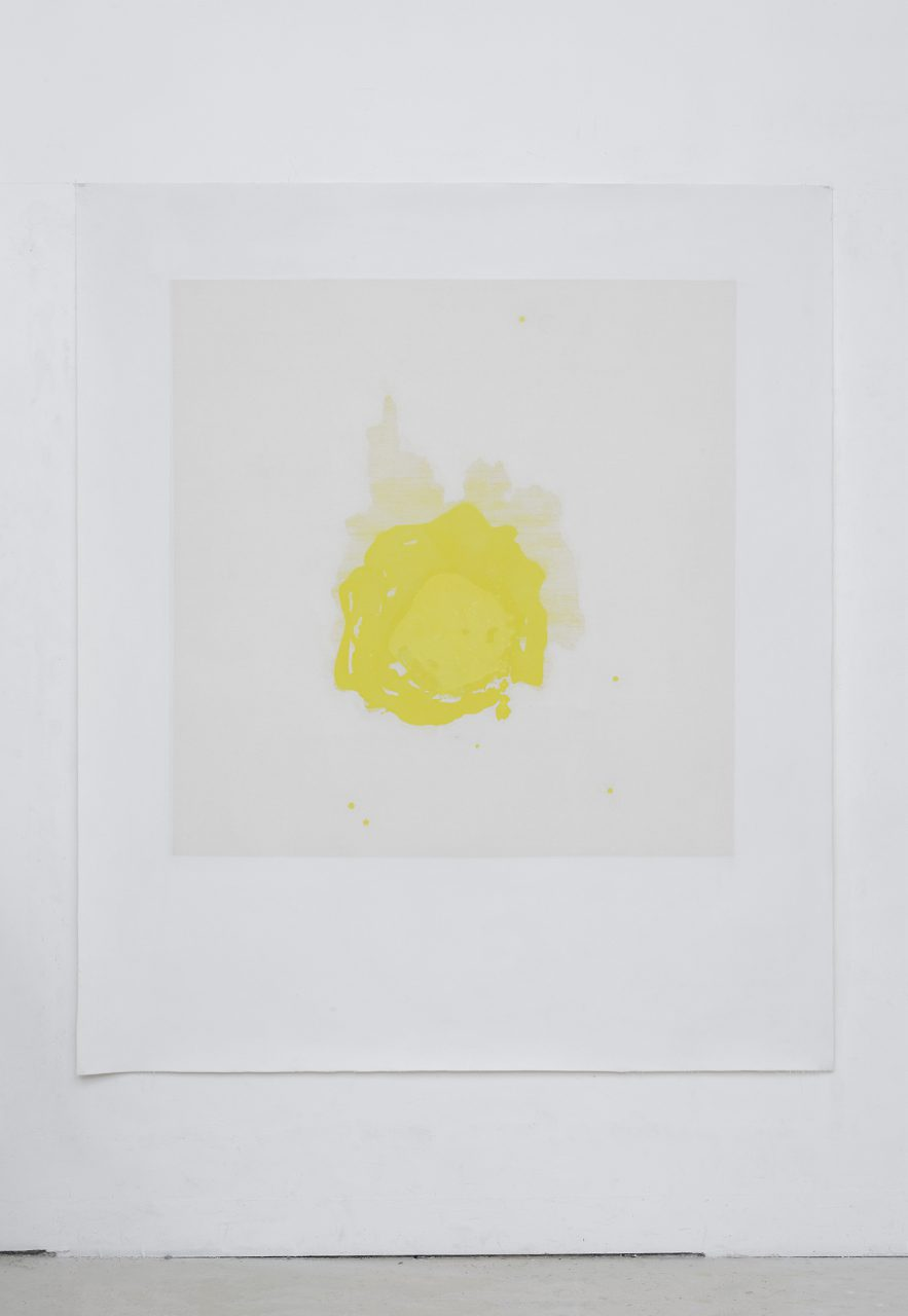 cadmium yellow light hue 15.2.19, 14.03 / 19.2.19, 11.10 | Studio Berlin, 2020