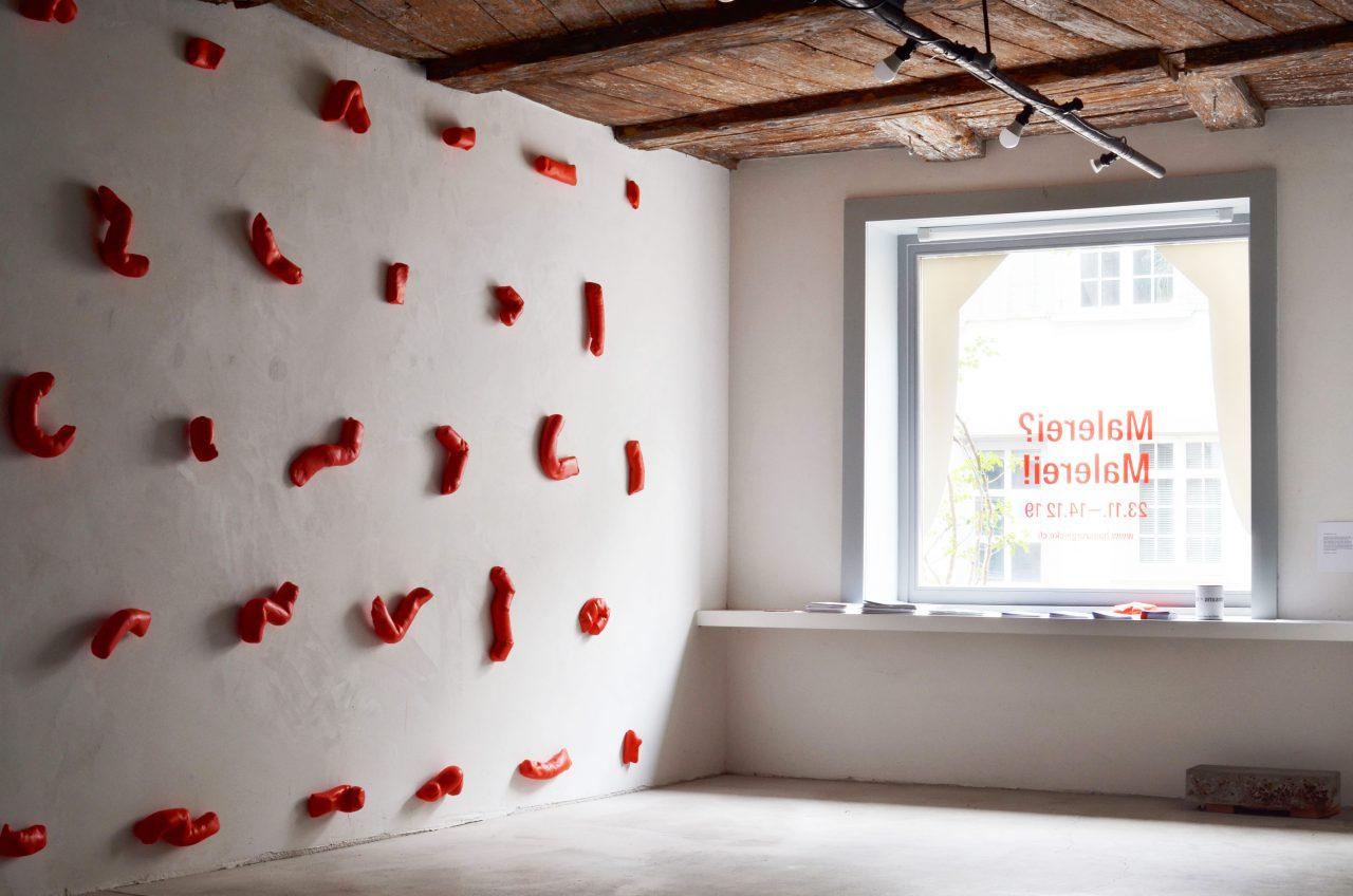 cadmium rot hell | Malerei? Malerei! Haus zur Glocke, Steckborn, 2019