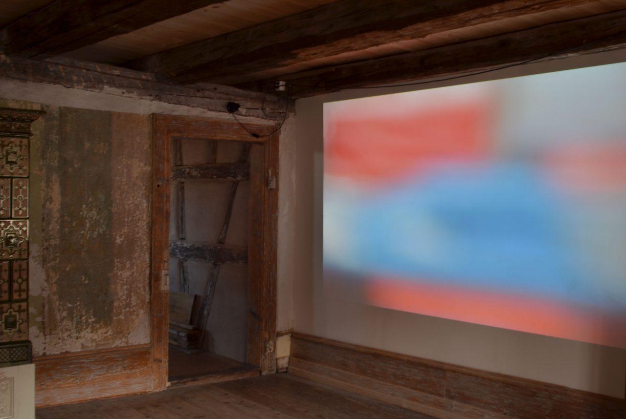 liquid (Video) | Anton Berta Cäsar, Worte, Zeichen, Notationen, Haus zur Glocke, Steckborn, 2017
