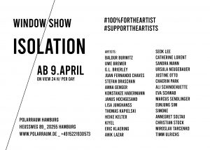 ISOLATION window exhibition Polarraum Hamburg  [members only] Image
