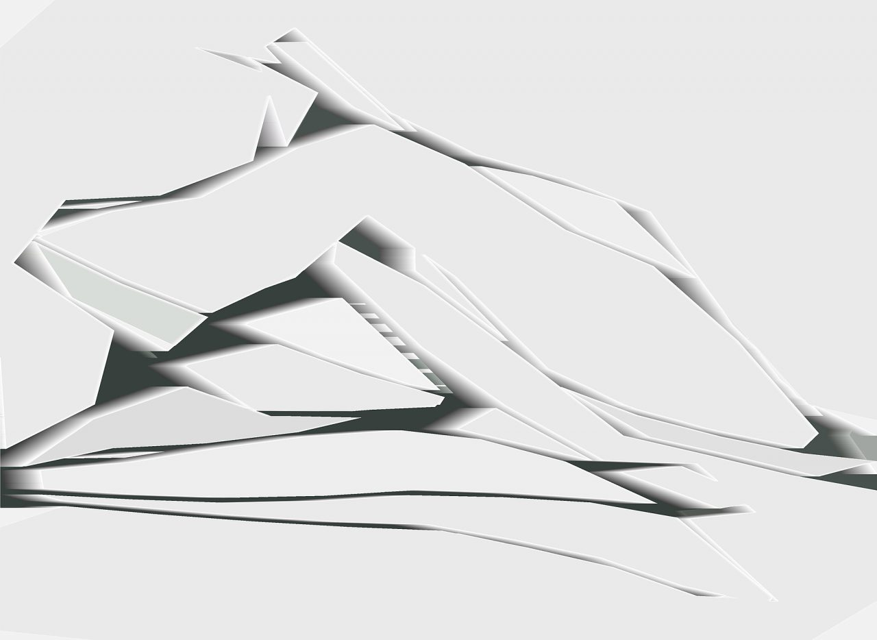 Eiszeit, Experimental Fine Art Photography, Farbpigment auf Aludibond, matt, 2020, 120 x 88 cm, mit Schattenfuge gerahmt, 3Exempl., rückseitig signiert