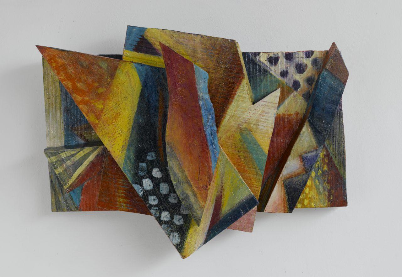 TUSSI. 2006 - 2008, Harzöl-Tempera auf Holz, 34 x 44 13 cm