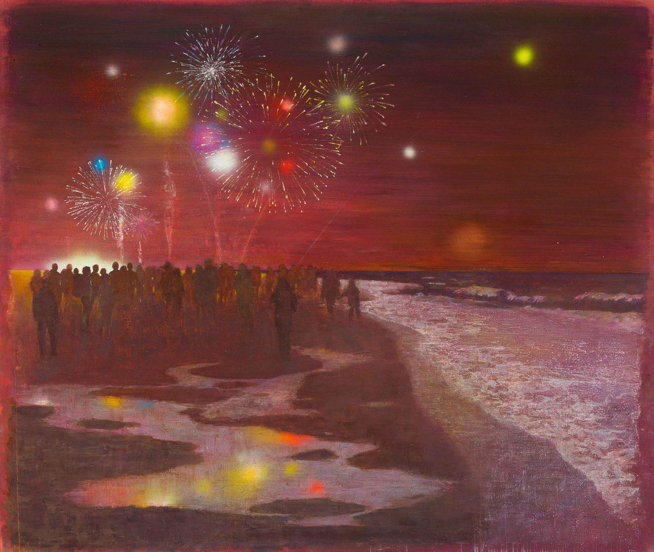 Luftschlösser, 2018, 170 x 200 cm, oil on canvas