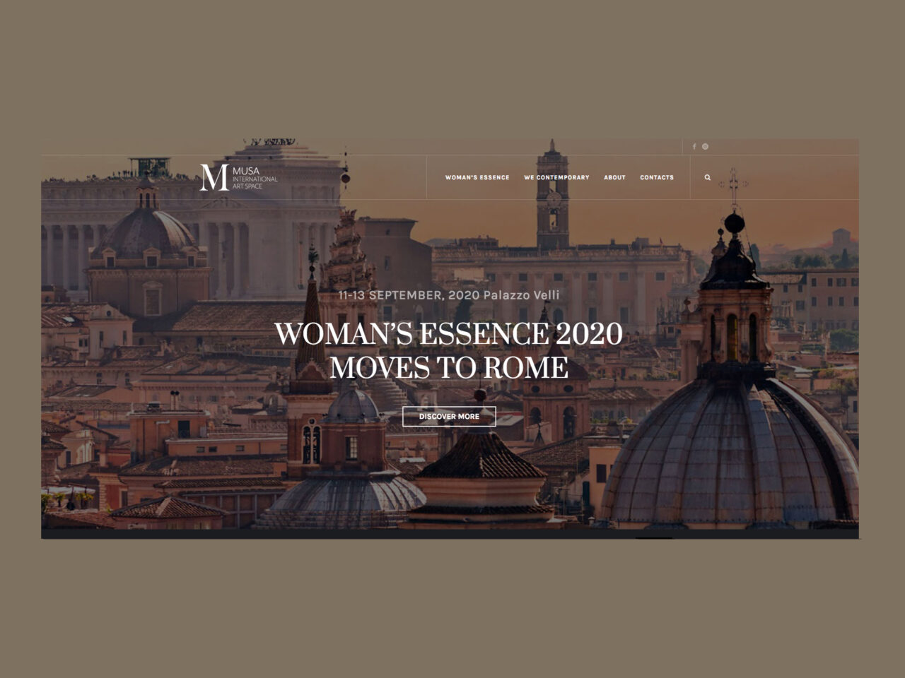 MUSA International Art Space, WOMAN'S ESSENCE SHOW 2020 in Collaboration with UNESCO image