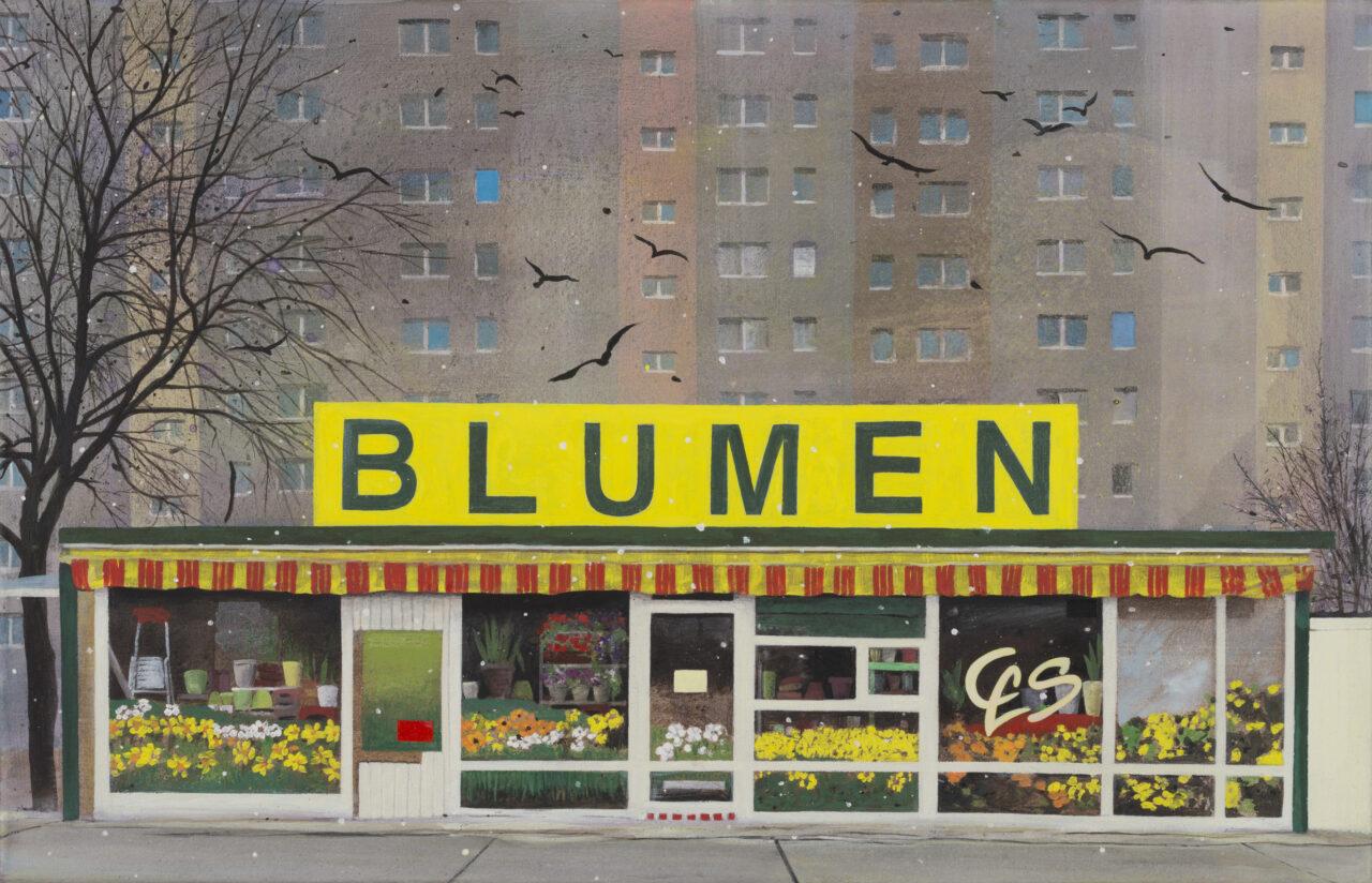 Traben am Abend - 10 Bilder über Berlin Lichtenberg