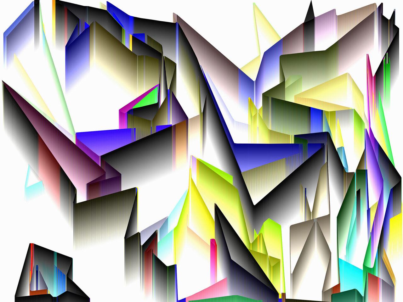FarbLandschaft, Experimental Fine Art Photography, Farbpigment auf Aludibond, matt, 2020, 67 cm x 90 cm cm, Unikat, rückseitig signiert, auf Wunsch auch auf Hahnemühlen Baryta und kleiner
