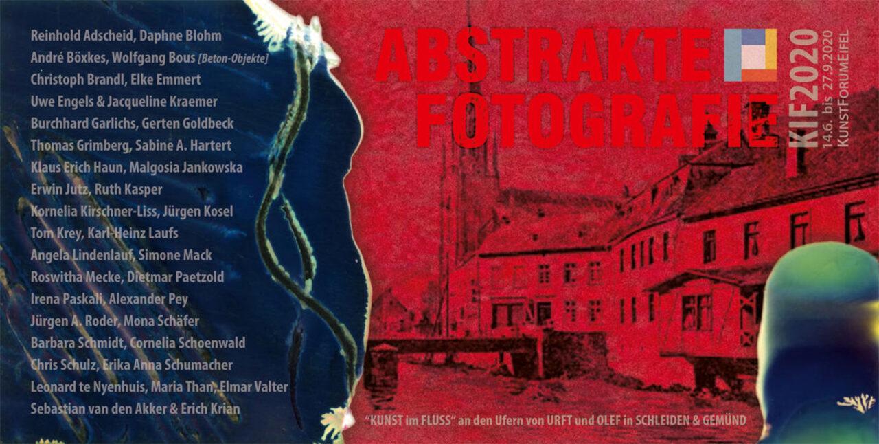 Gruppenausstellung: KUNST im FLUSS 2020, KunstForumEifel 14.06. bis Ende September 2020 image
