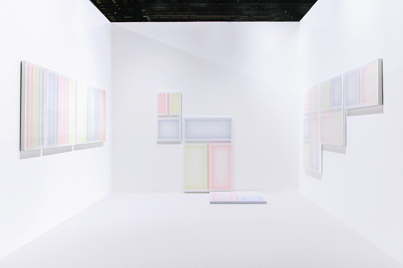 Yes, Maybe, No / Yes, No, Maybe / No, Maybe, Yes, Installation view / solo booth at artgeneva, Geneva (CH), 2020