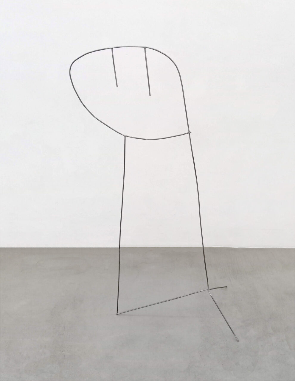 """Philip Guston"" / Le Squad, 2019, steel, 154, 60 x 56 cm"