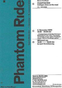 Phantom Ride – Marcus Sendlinger, exhibition Image