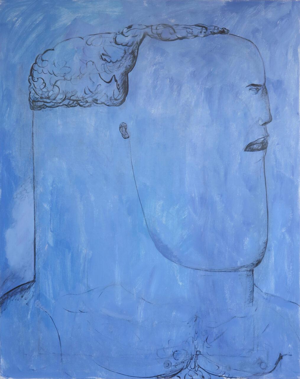 Laguna, 2020, Öl auf Baumwolle, 185 x 145 cm