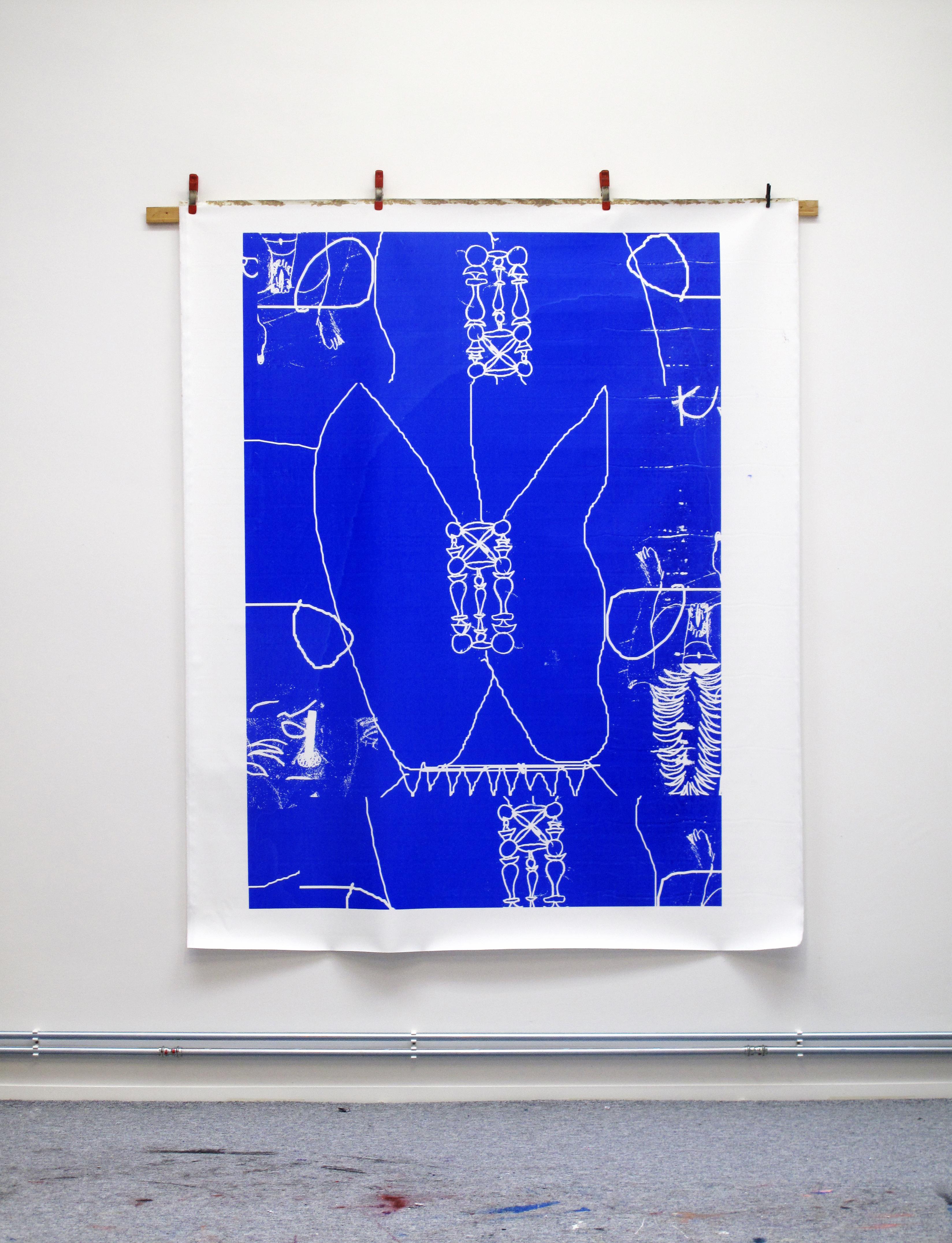 Artwork 2020 / screen print on canvas