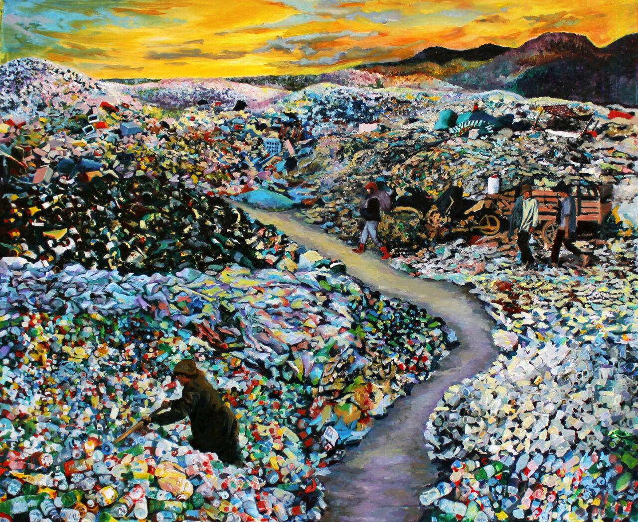 The Harvest, 2020, oil on canvas, 50x60cm