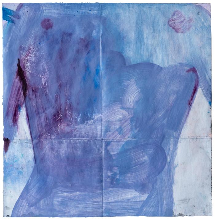 torni, 2020, mixed media on paper, 50,5 x 48,5 cm