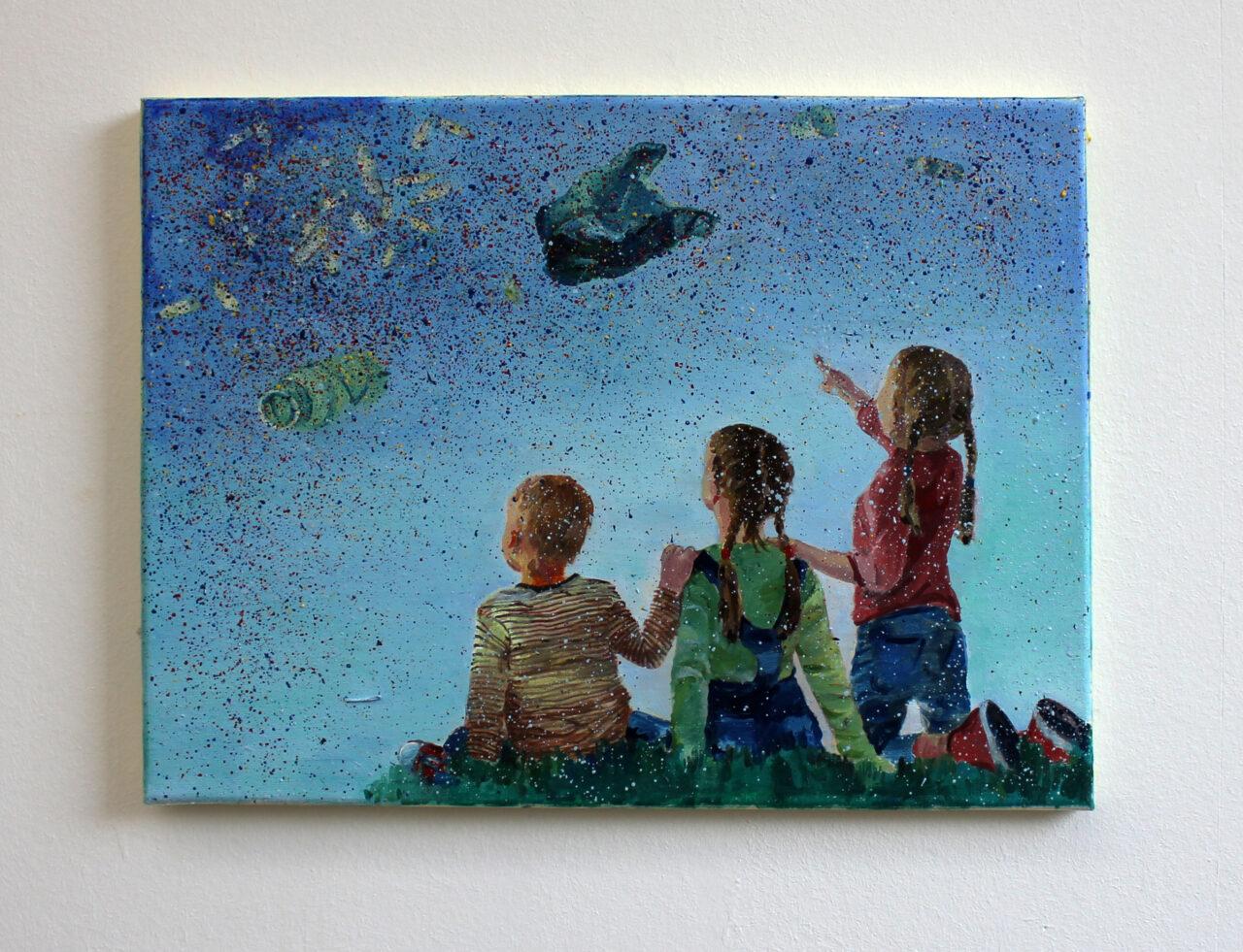 I spy, 2020, oil on canvas, 30x40 cm