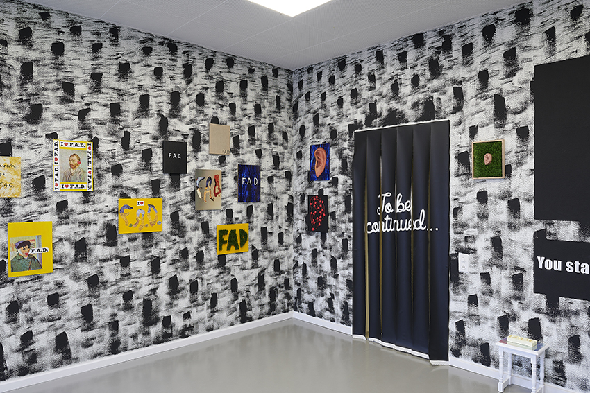 Exhibition view: Fame After Death: The Prologue, Balzer Projects, Basel, Switzerland (Foto © Nici Jost)