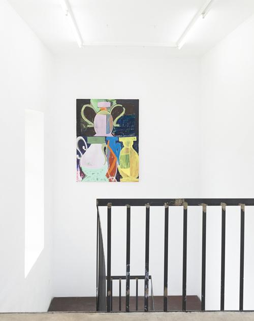Egal. Voll. At NAK. Neuer Aachener Kunstverein (Oil on canvas, 160x120cm / 63