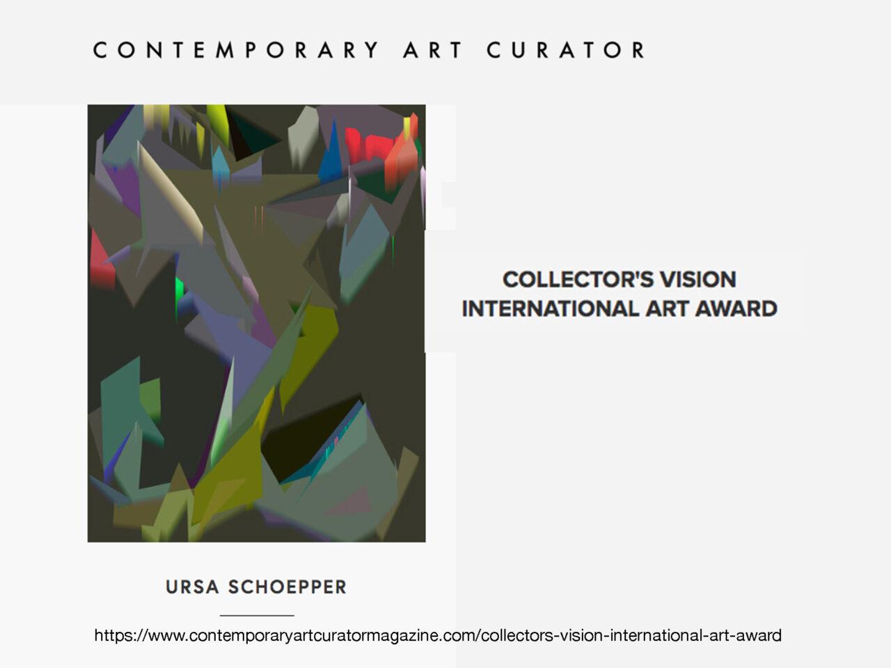 COLLECTOR'S  VISION  INTERNATIONAL  ART  AWARD 2021 image