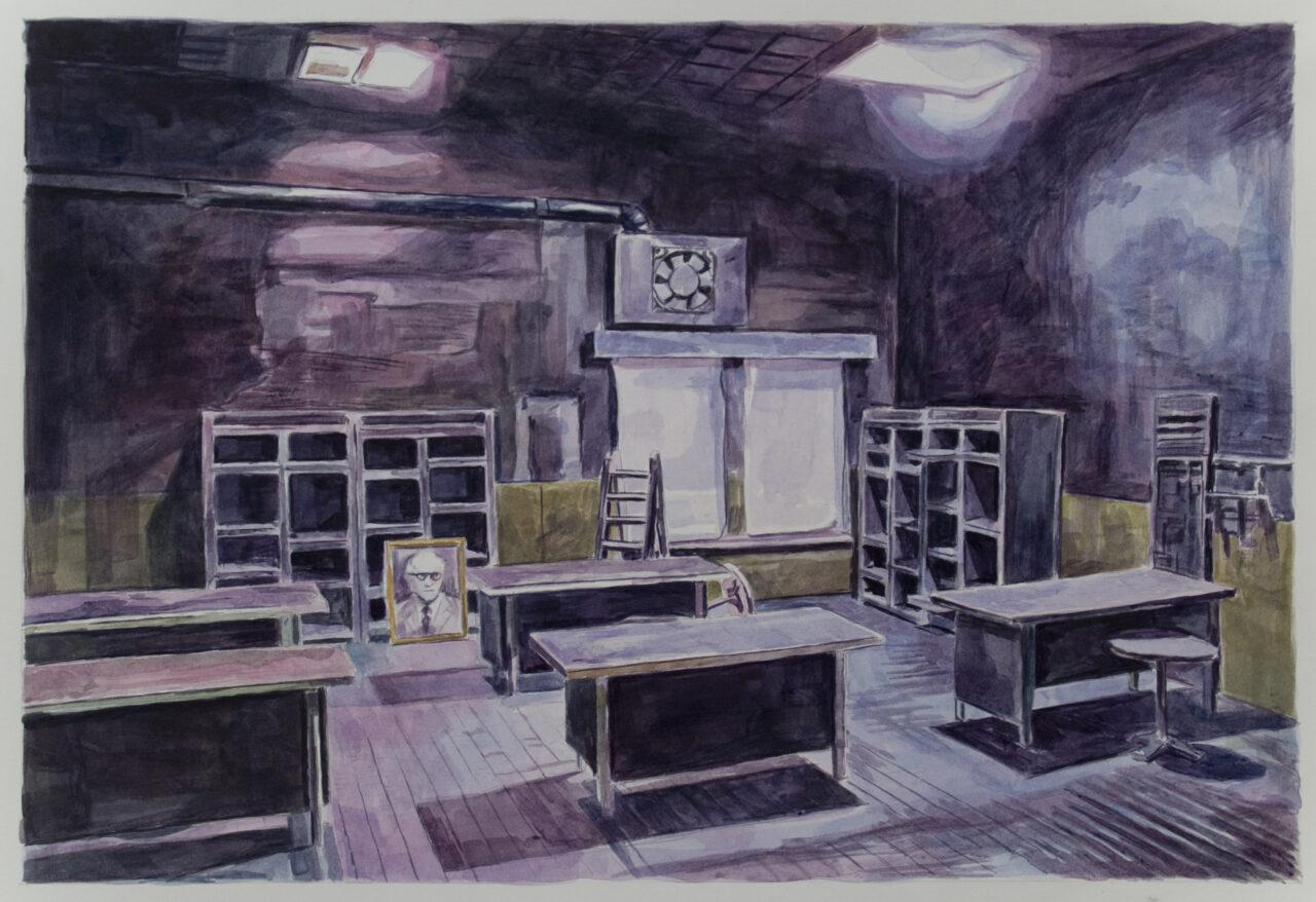 19,89 (Part 2) | Watercolors on Paper | 58cm x 40 cm