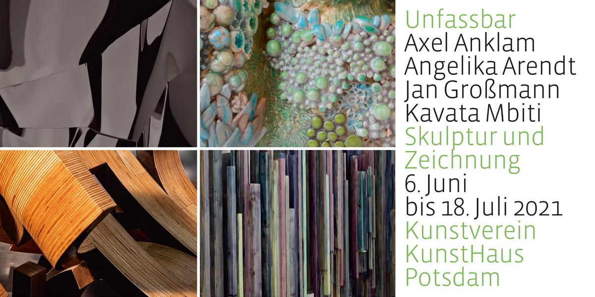 Unfassbar – Skulptur, Relief, Zeichnung Axel Anklam | Angelika Arendt | Jan Großmann | Kavata Mbiti image