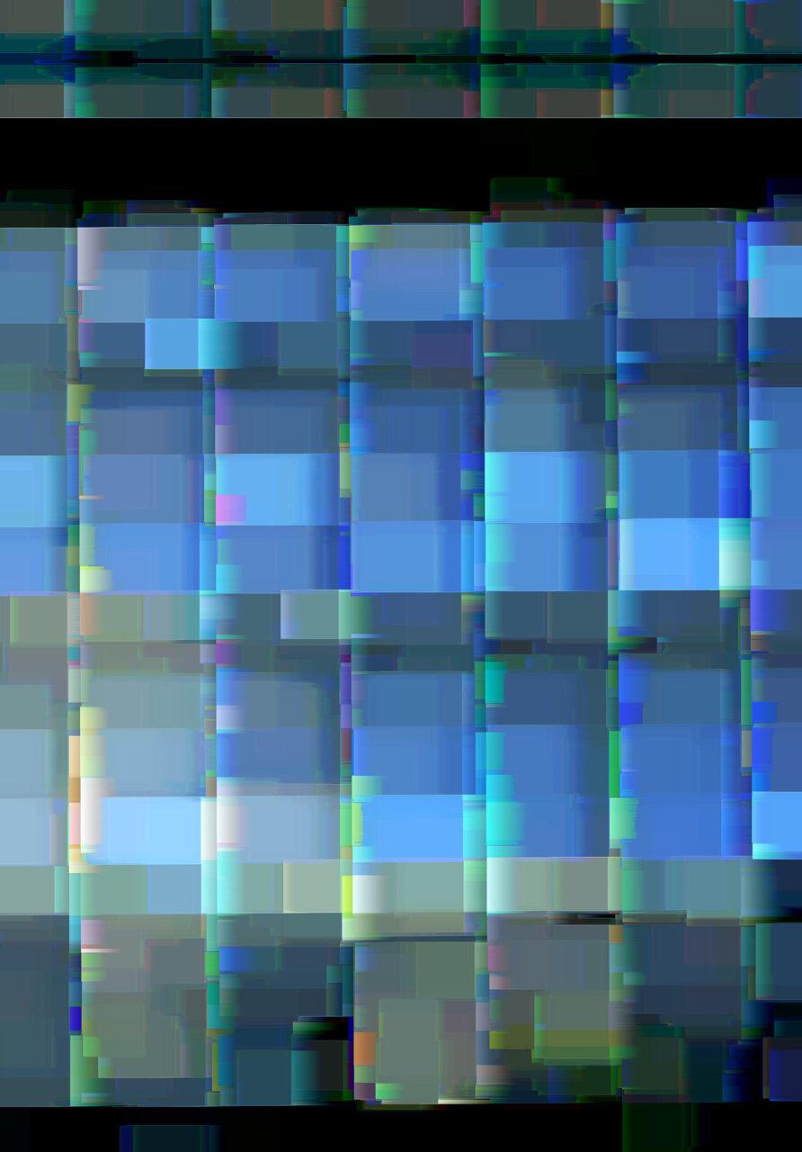 Zwischenraum, 2021, Experimental Fine Art Photography, Mixed Media, Farbpigment auf Aludibond, 120 cm x 84 cm, rückseitig signiert und gerahmt, in dieser Größe ein Unikat