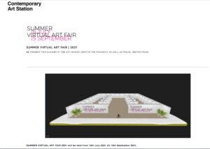 SUMMER  VIRTUAL  ART  FAIR 2021 Image