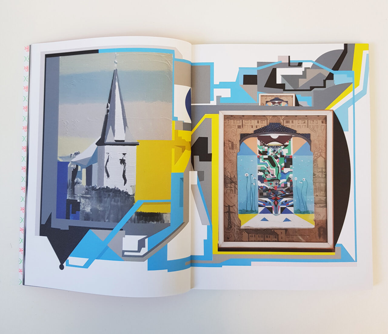 Page in a Dutch Art Catalogue, 2021