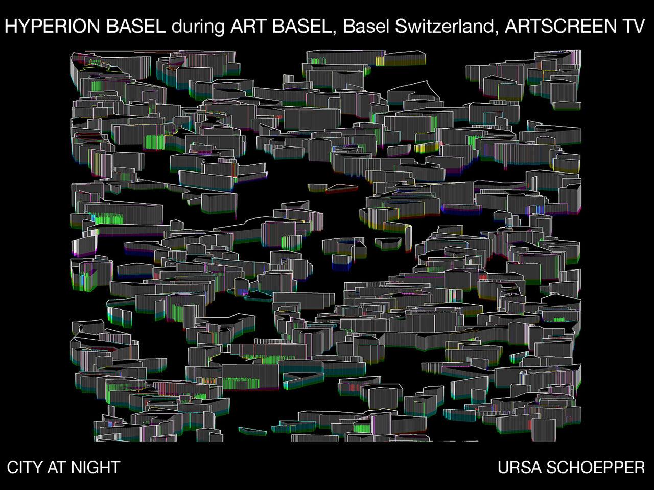 HYPERION BASEL during ART BASEL, Basel Switzerland, ARTSCREEN TV
