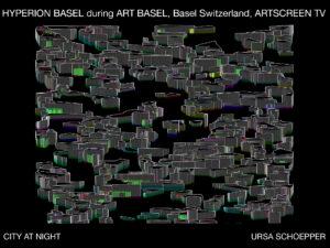 HYPERION BASEL during ART BASEL, Basel Switzerland, ARTSCREEN TV Image