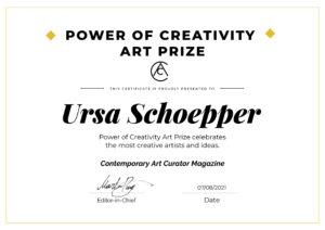 POWER  OF  CREATIVITY  ART  PRIZE Image