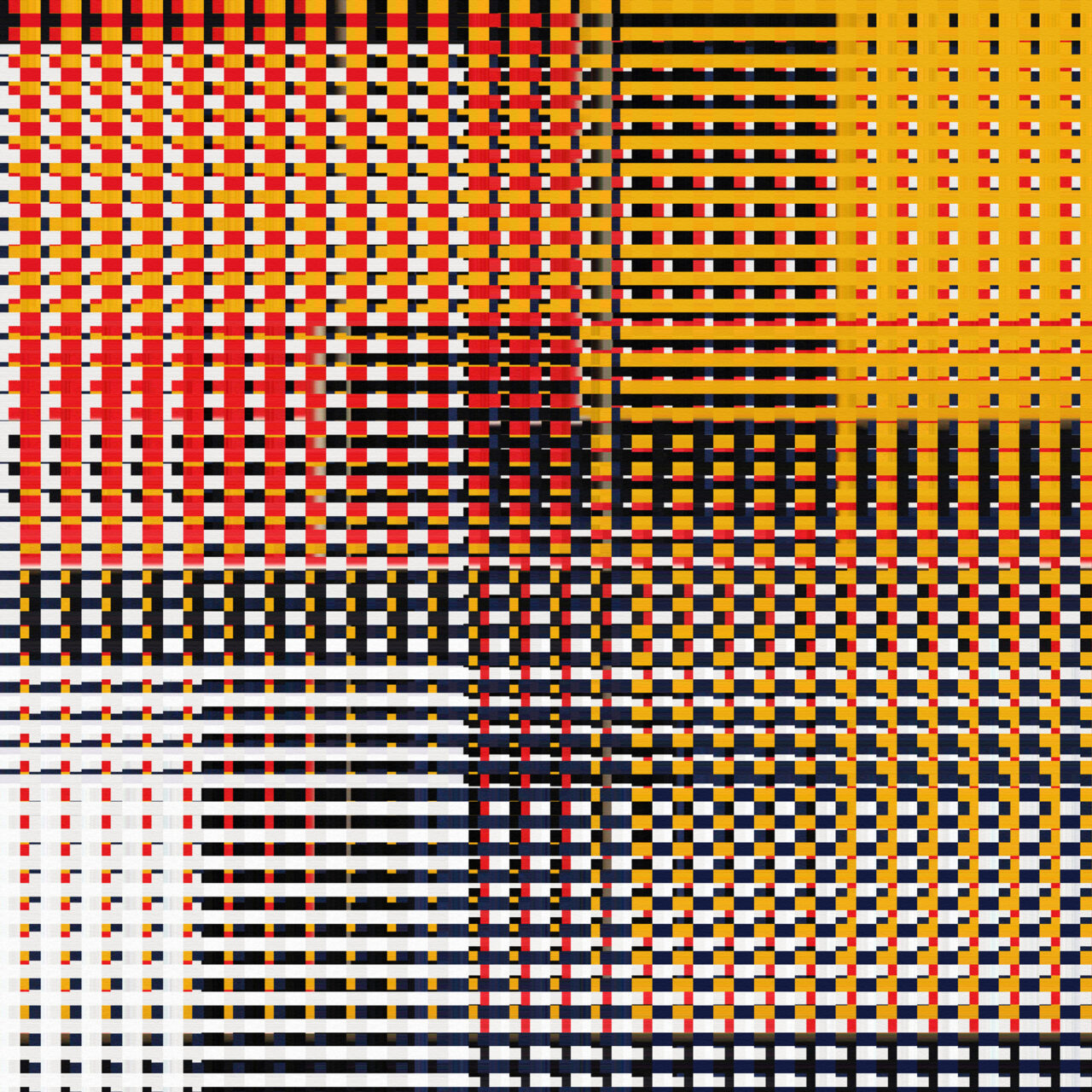 Visueller Text, 2019, nominiert für den  6. Internationalen Evard-Preis 2021, Experimental Fine Art Phtography, Mixed Media, 120 cm x 120 cm, Farbpigment auf Aludibond, matt
