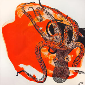 Octopusy | Aljona Shapovalova | available artwork