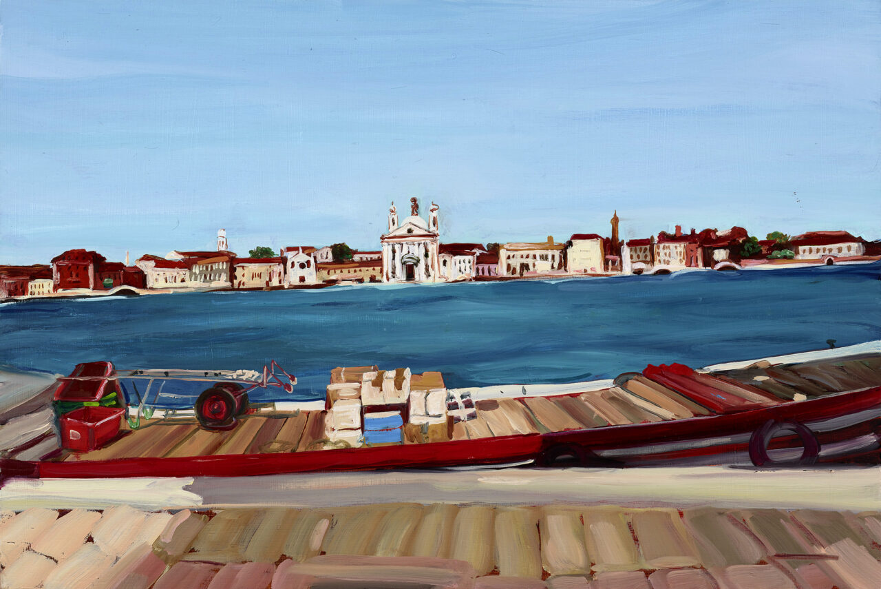 Guidecca Venedig   Caroline Weihrauch   available artwork