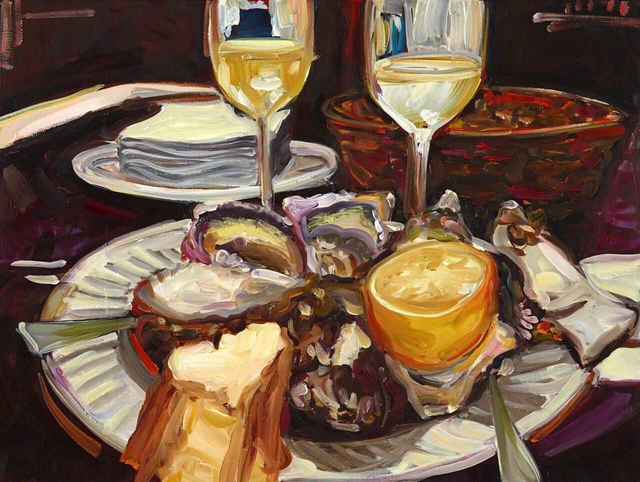 La vie est belle! Paris Bar, Sylter Royal | Caroline Weihrauch | available artwork