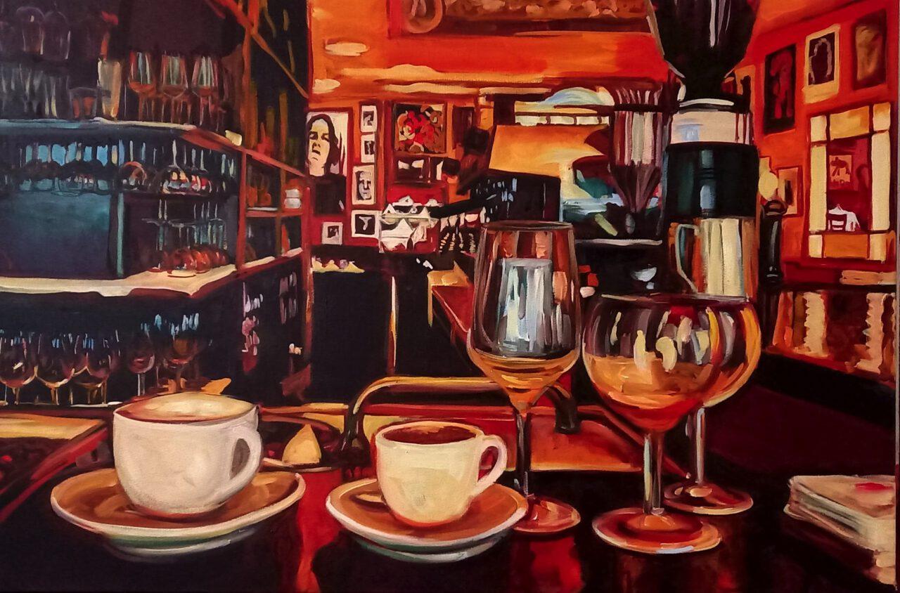 Back to Normal, Parisbar   Caroline Weihrauch   available artwork