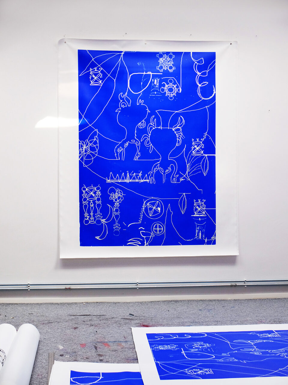 Artwork 2021 / screen print on canvas