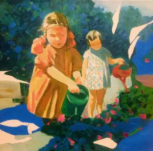 Girls | Vadim Leukhin | available artwork
